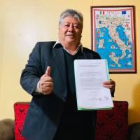 Miguel Ángel Sánchez Saldivar presenta sus intenciones ante Morena por la alcaldía de Tlaxcala