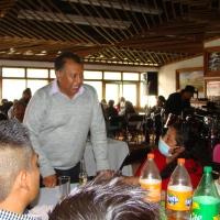 Alejandro López Cortés Regidor electo, realiza reunión de agradecimiento con gente de las comunidades de Huamantla